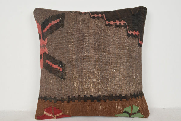 Turkish Rugs Grand Bazaar Pillow B00147 20x20 Old Craft Hand Crafted