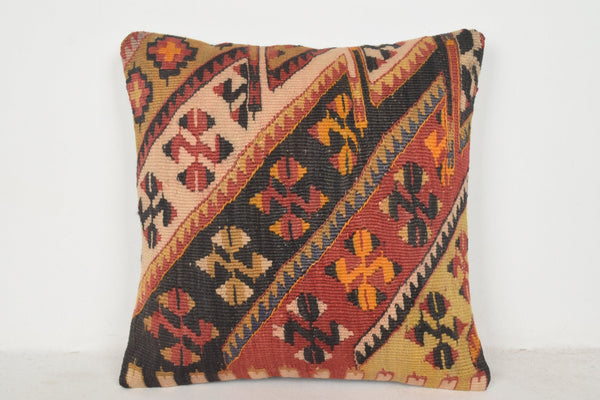 Antique Turkish Kilim Rugs for Sale Pillow B00547 20x20 Pretty Mexican