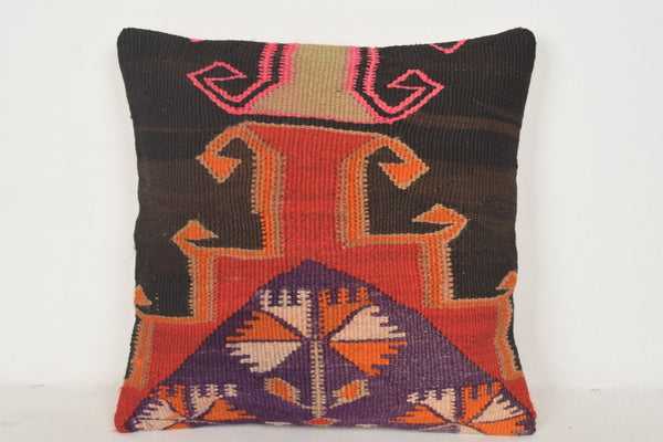 Antique Kilim Cushions C00547 18x18 Social Culture Substantial