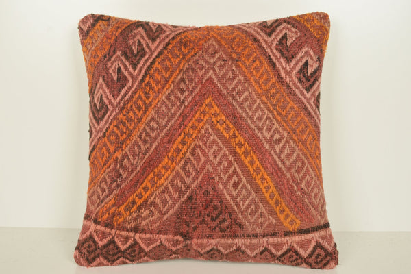 Turkish Delight Pillow C01048 18x18 Handwork Collection Hand woven