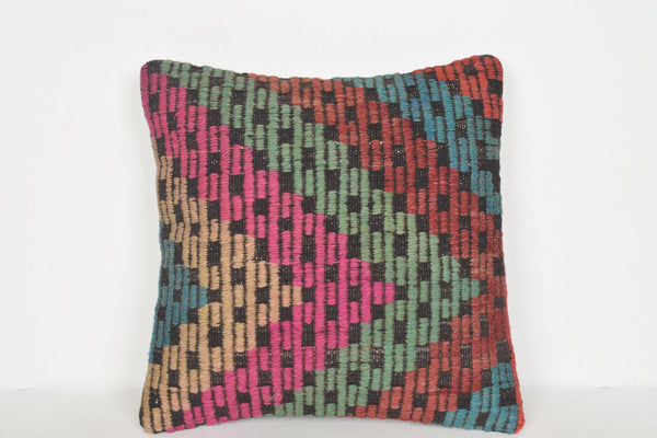 Kilim Cushions Perth D00648 16x16 Knit Easter Private
