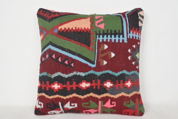 Navajo Kilim Pillow C00350 18x18 Craft Couch Primary
