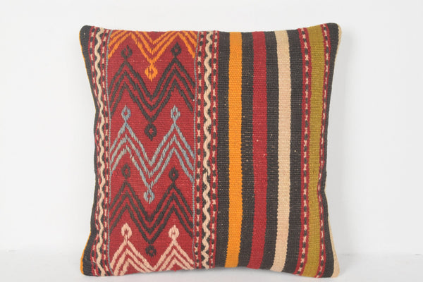 Coussin Kilim Géant 16x16 D00160 Ornant Textile Throw