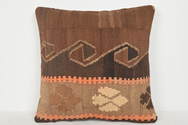 Boho Girl Pillow B00205 20x20 Handwoven Needlepoint Hand Crafted