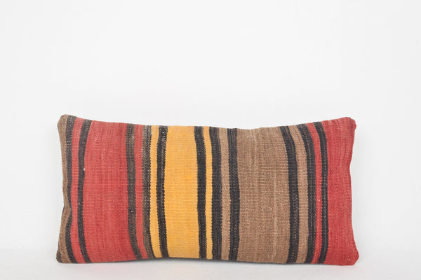 Alva Kilim Rug Pillow G00213 Folk Pretty Fragment Bohemian