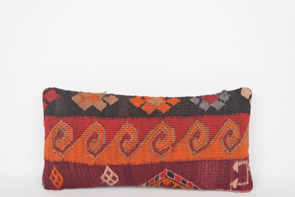 Used Kilim Rugs Pillow G00121 Great Handknit Easter Handiwork