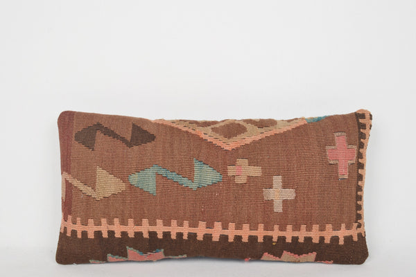 Turkish Rugs Portland Oregon Pillow G00060 Primitive Folkloric Crochet