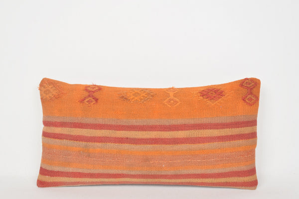 Woven Kilim Cushion G00077 Handmade Bed Retro Pouf
