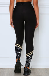 Blackout Sweet And Sassy Leggings Black