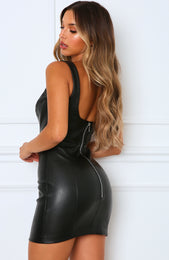 Knock Out Mini Dress Black