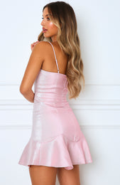 Girl Revolution Mini Dress Baby Pink