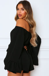 Mornington Playsuit Black