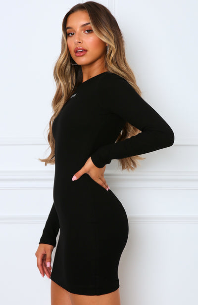Still The One Mini Dress Black