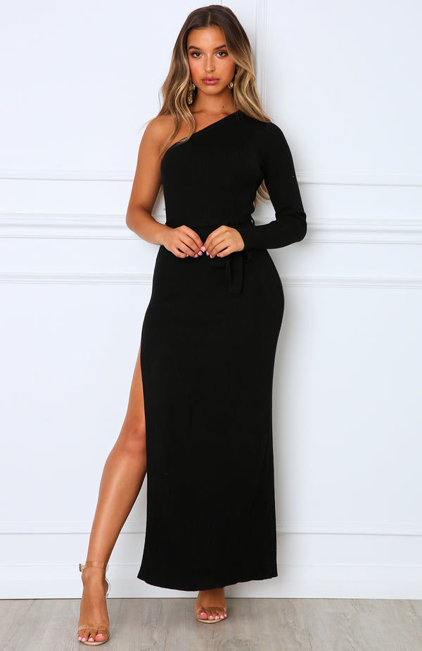 Good Side Maxi Dress Black