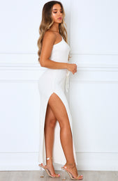 Good Side Maxi Dress White