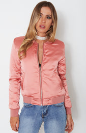Gabi Bomber Dusty Pink