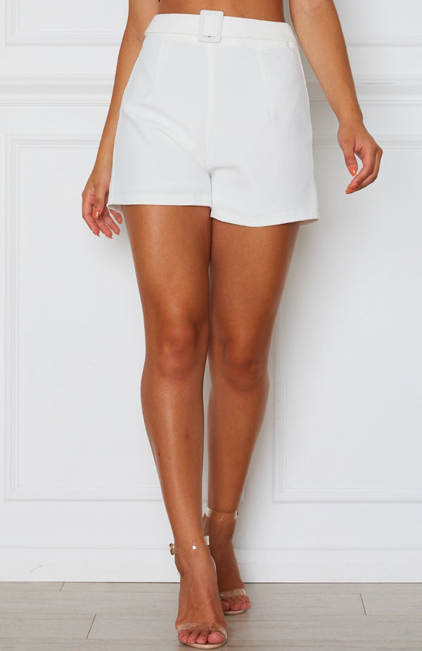 It Girl Shorts White