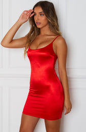 Moments Mini Dress Red