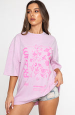 Make It Pop Tee Pink Acid