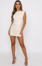 My Everything Mini Dress Nude