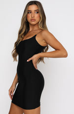 You'll Be Back Mini Dress Black