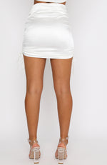 Cali Girl Mini Skirt White