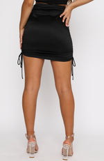 Cali Girl Mini Skirt Black