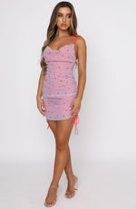 More Than A Feeling Mini Dress Lilac Rose