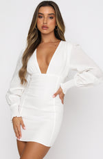 Bet On It Mini Dress White