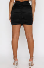 After Hours Mini Skirt Black