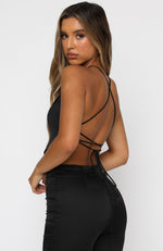 Dance Till Dawn Top Black