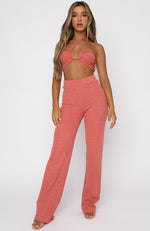 Unconditional Pants Terracotta