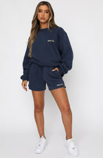How Could I Forget Lounge Shorts Navy