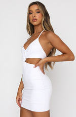 Dream Team Mini Dress White