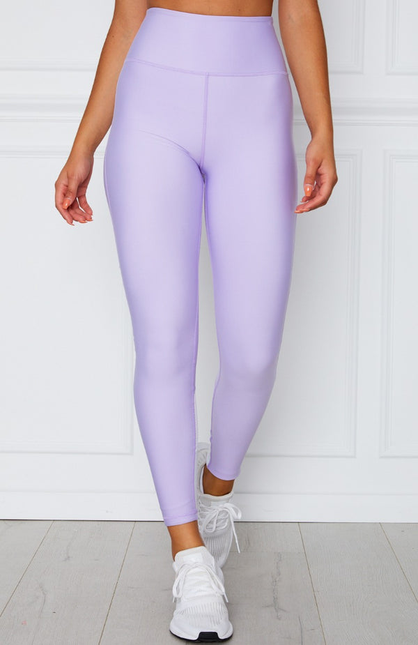 Alexis Panel Leggings Lilac