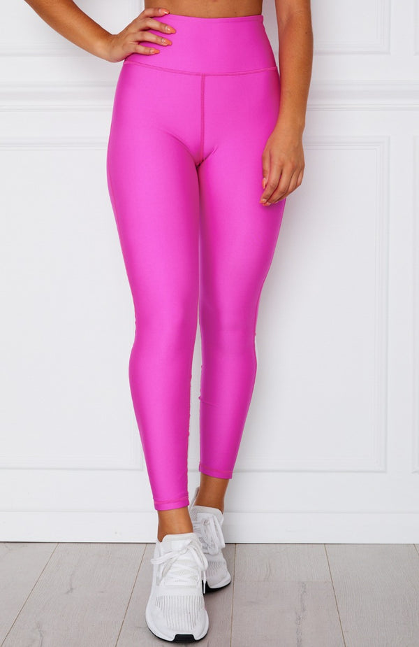 Alexis Panel Leggings Fuchsia