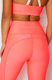 Hailey Leggings Coral