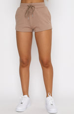 Ride Or Die Shorts Mocha