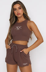 Endless Summer Lounge Shorts Chocolate