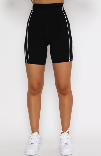 Step Up Bike Shorts Black