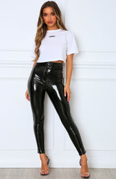 Double Take Pants Black