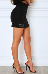 Underrated Mini Skirt Black