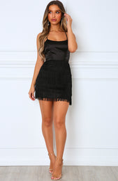 Lead The Way Mini Dress Black