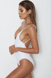 Capri One Piece White