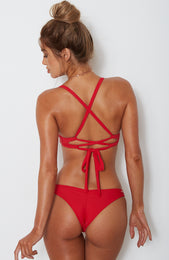 Malia Bottoms Red