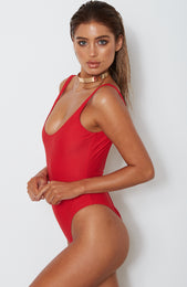 St Tropez One Piece Red