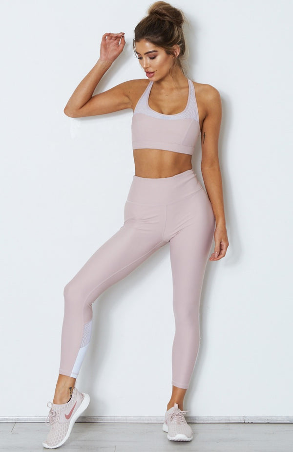 Peyton Panel Leggings Soft Pink