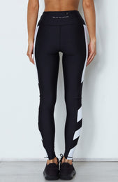 Myra Panelled Leggings Midnight