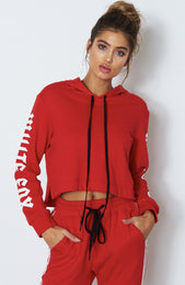 Zola Sweater Red