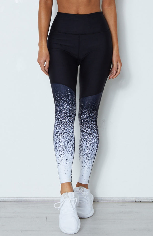 Aisha Leggings Midnight Ombre